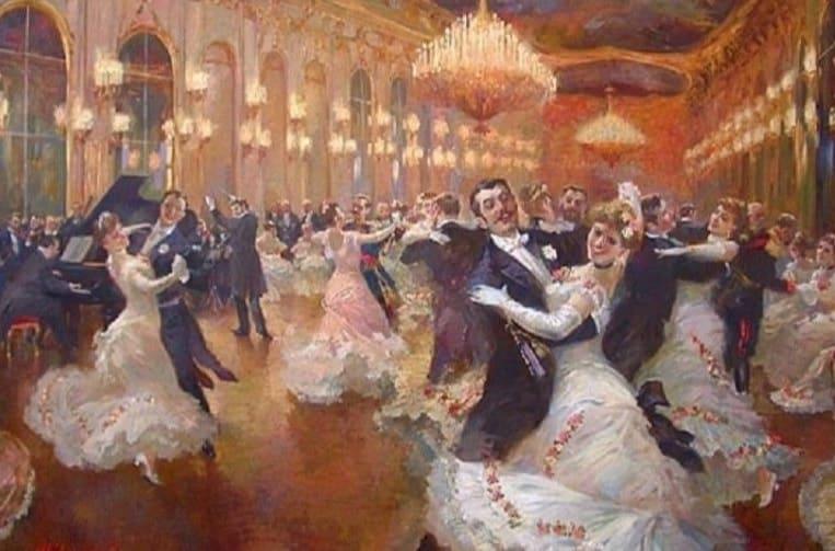 英國宮廷舞的景況