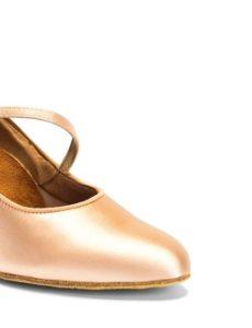 摩登女鞋緞面