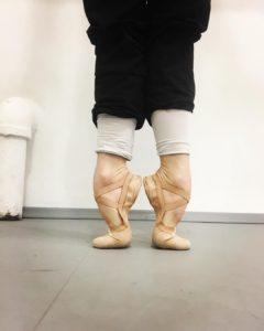 芭蕾舞腳背